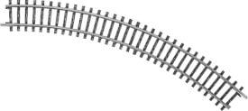 Märklin 2210 H0-Gleis geb.r295,4 mm, 45 Gr.