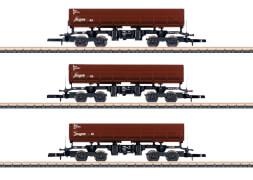 Märklin 82436 Z Seitenkippwagen-Set DB AG