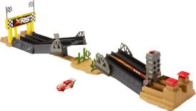 Mattel GFM09 Disney Cars Xtreme Racing Serie Dragster-Rennen Spielset