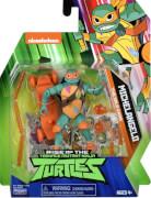 Jazwares TURTLES 80803 ROTMNT 10 cm Basic Action Figur Michelangelo