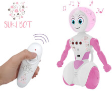 Gear2Play Radio-Controlled Robot Suki Bot Pink