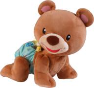 Vtech 80-181104 Krabbel mit mir - Bär, ab 9 Monate - 3 Jahre, Plüsch