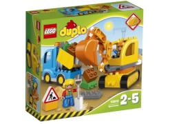 LEGO® DUPLO® 10812 Bagger & Lastwagen, 25 Teile
