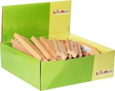 SpielMaus Holz Gerade, 14,5 cm