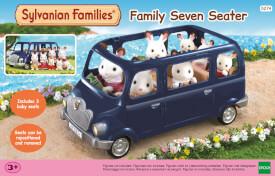 Sylvanian Families 5274 Familien-Siebensitzer