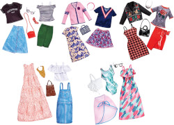 Mattel FKT27 Barbie Fashions 2er-Pack