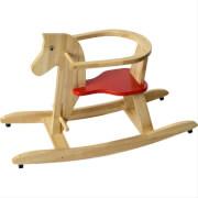 Holzschaukelpferd, Sitzhöhe ca. 26 cm
