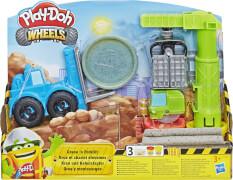 Hasbro E5400EU4 Play Doh Kran und Gabelstapler