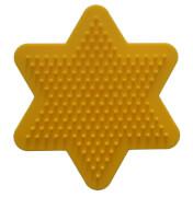 HAMA Stiftplatte kleiner Stern, gelb