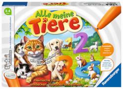 Ravensburger 007769 tiptoi® Alle meine Tiere, Interaktives Lernspiel, Zahlen 1 - 10