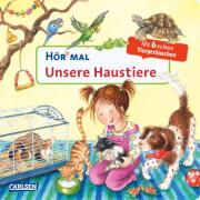 Unsere Haustiere (Hör mal), Pappbilderbuch, 14 Seiten, ab 24 Monate