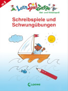 Loewe Lernspielzwerge Block: Schreibspiele und Schwungübungen Vorschule