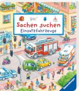 Ravensburger Seidel, Sachen suchen Einsatzfahrzeuge, Bilderbuch