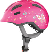 Abus Radhelm S 45-50 Smiley pink butterfly