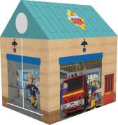 John Feuerwehrman Sam Feuerwehrhaus ca. 72 x 95 x 102 cm