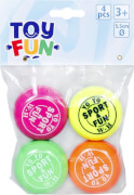 Toy Fun YO YO, 4 Stück im Beutel