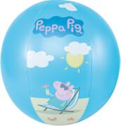 Happy People 16264 Peppa Pig Wasserball, aufgeblasen ca. 29 cm,