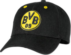 Borussia Dortmund BVB- Kappe, schwarz/gelb
