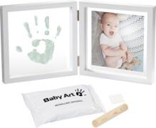 Baby Art My Baby Style Bilderrahmen mit Abdruck, transparent flat, Crystal line